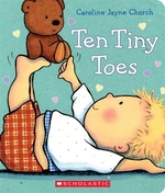 Book cover of 10 TINY TOES