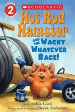 Book cover of HOT ROD HAMSTER & THE WHACKY WHATEVER