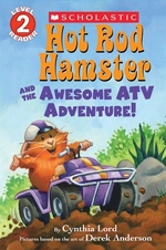 Book cover of HOT ROD HAMSTER & THE AWESOME ATV ADVE