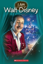 Book cover of I AM 11 WALT DISNEY