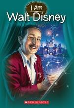 Book cover of I AM 11 WALT DISNEY