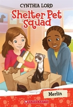Book cover of SHELTER PET SQUAD 02 MERLIN