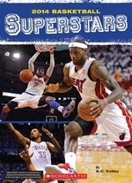 Book cover of 2014 BASKETBALL SUPERSTARS