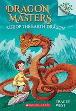 Book cover of DRAGON MASTERS 01 RISE OF THE EARTH DRAG