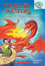 Book cover of DRAGON MASTERS 04 POWER OF FIRE DRAGON