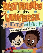 Book cover of BEST FRIENDS IN THE UNIVERSE