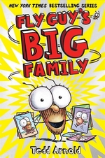 Book cover of FLY GUY 17 FLY GUY'S BIG FAMILY