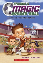 Book cover of FRANKIE'S MAGIC SOCCER BALL 02 FRANKIE V