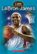 Book cover of I AM 12 LEBRON JAMES