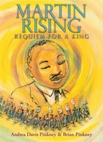 Book cover of MARTIN RISING - REQUIEM FOR A KING