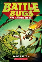 Book cover of BATTLE BUGS 02 SPIDER SIEGE