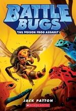 Book cover of BATTLE BUGS 03 POISON FROG ASSAULT