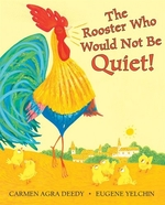 Book cover of ROOSTER WHO WOULD NOT BE QUIET