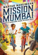 Book cover of MISSION MUMBAI