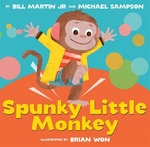 Book cover of SPUNKY LITTLE MONKEY