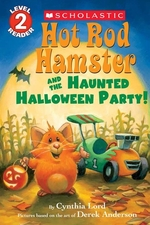 Book cover of HOT ROD HAMSTER & HAUNTED HALLOWEEN PA