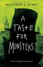 Book cover of TASTE FOR MONSTERS