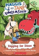 Book cover of HAGGIS & TANK UNLEASHED 02 DIGGING FOR D