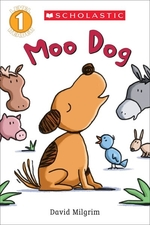 Book cover of MOO DOG