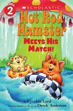 Book cover of HOT ROD HAMSTER MEETS HIS MATCH