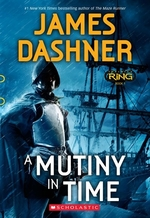 Book cover of INFINITY RING 01 A MUTINY IN TIME