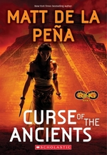 Book cover of INFINITY RING 04 CURSE OF THE ANCIENTS