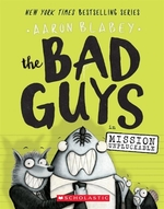 Book cover of BAD GUYS 02 MISSION UNPLUCKABLE