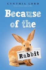 Book cover of BECAUSE OF THE RABBIT