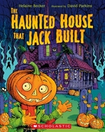 Book cover of HAUNTED HOUSE THAT JACK BUILT