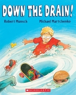 Book cover of DOWN THE DRAIN