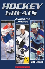 Book cover of HOCKEY GREATS