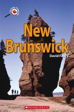 Book cover of CANADA CLOSE UP NEW BRUNSWICK