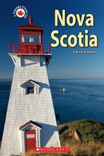 Book cover of CANADA CLOSE UP NOVA SCOTIA