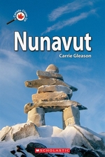 Book cover of CANADA CLOSE UP NUNAVUT
