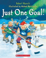 Book cover of JUST 1 GOAL