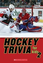 Book cover of HOCKEY TRIVIA FOR KIDS 2