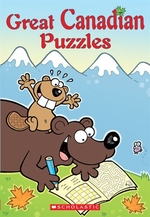 Book cover of GREAT CANADIAN PUZZLES