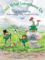 Book cover of THAT'S WHAT LEPRECHAUNS DO