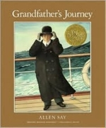 Book cover of GRANDFATHER'S JOURNEY