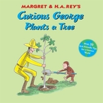 Book cover of CURIOUS GEORGE PLANTS A TREE