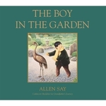 Book cover of BOY IN THE GARDEN
