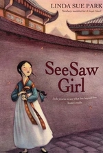 Book cover of SEESAW GIRL