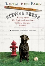 Book cover of KEEPING SCORE - A STORY ABOUT LIFE FAITH