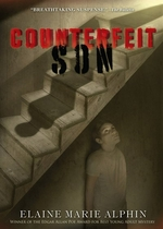 Book cover of COUNTERFEIT SON