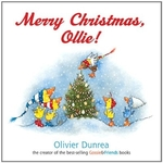 Book cover of MERRY CHRISTMAS OLLIE