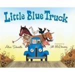 Book cover of LITTLE BLUE TRUCK BIG BOOK