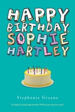 Book cover of HAPPY BIRTHDAY SOPHIE HARTLEY