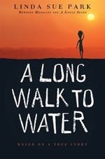 Book cover of LONG WALK TO WATER