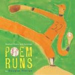 Book cover of POEM RUNS - BASEBALL POEMS