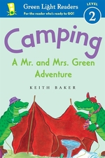 Book cover of CAMPING - A MR & MRS GREEN ADVENTURE